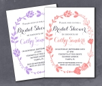 Rustic Country Chic Bridal Shower Invite
