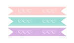 Pastel Straw Flags