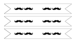 Mustache Flags