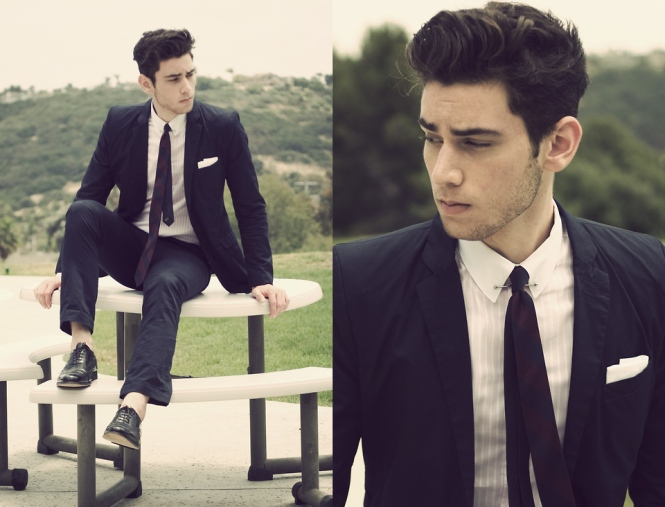 Lookbook mens suit