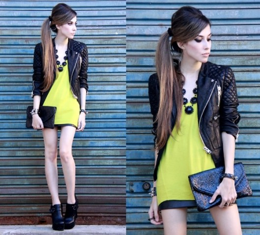 Lookbook modern neon