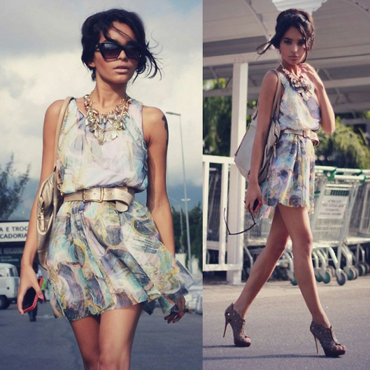 Lookbook pretty dress