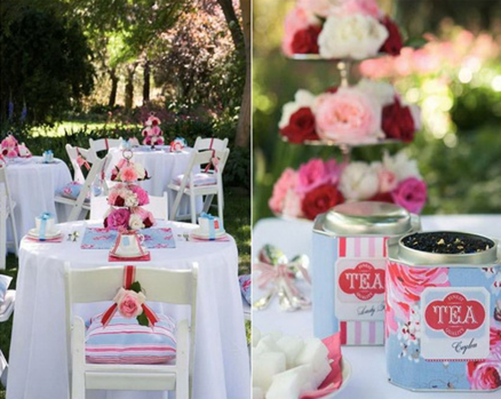 Backyard Wedding Shower Decorating Ideas : Garden Party Decorating Ideas  DECORATING IDEAS