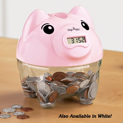 Piggy bank digital