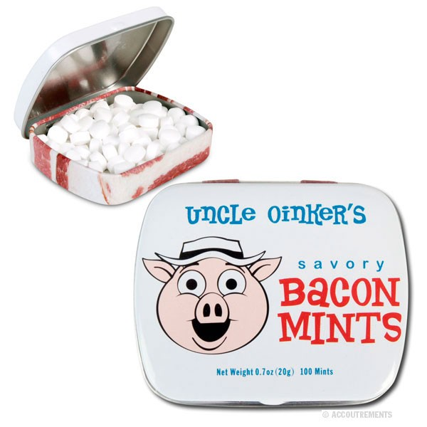 bacon flavour mints
