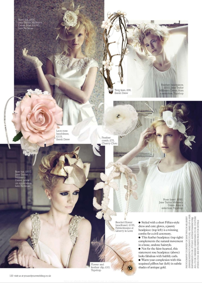Cosmo Bride Uk_ Jan 2011_Pretty hair accessories