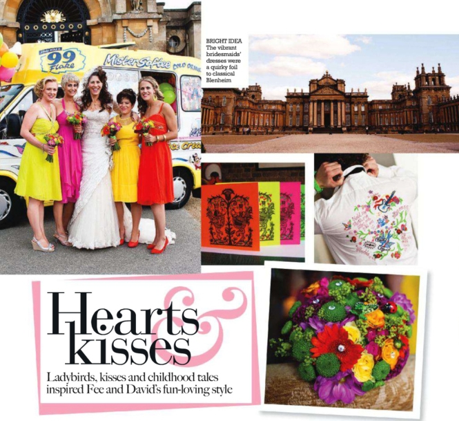 Cosmo Bride UK_May 2011_Real weddings fun colours