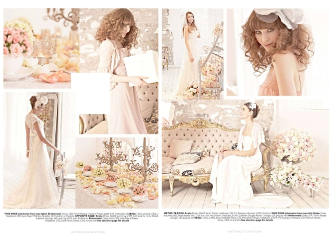 You & Your Wedding magazine spread