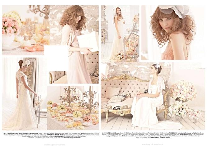 You & Your Wedding magazine spread