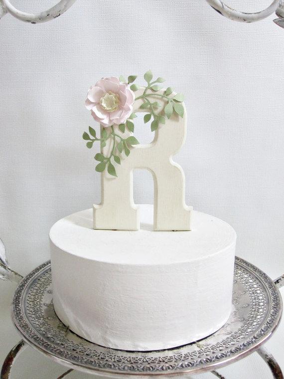 Cake Topper letter R