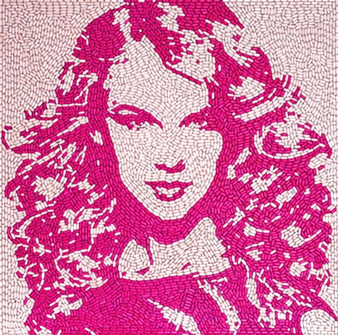 Taylor Swift_Jason Mecier_Candy art