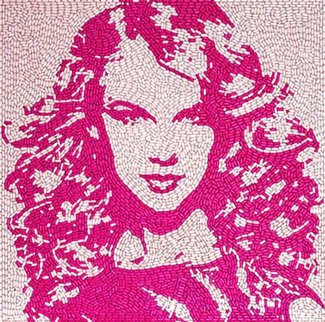 Taylor Swift_Jason Mecier_Candy art