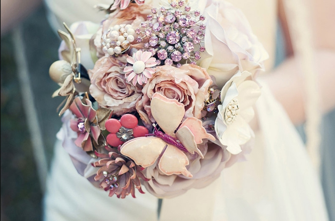 Etsy-wedding brooch-bouquets