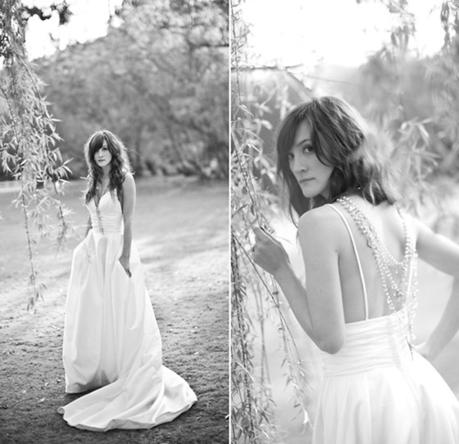 Its Black _Its White_Wedding dress_Lookbook