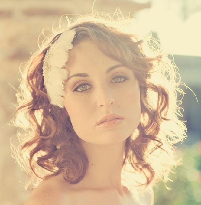 wedding_feather headpiece