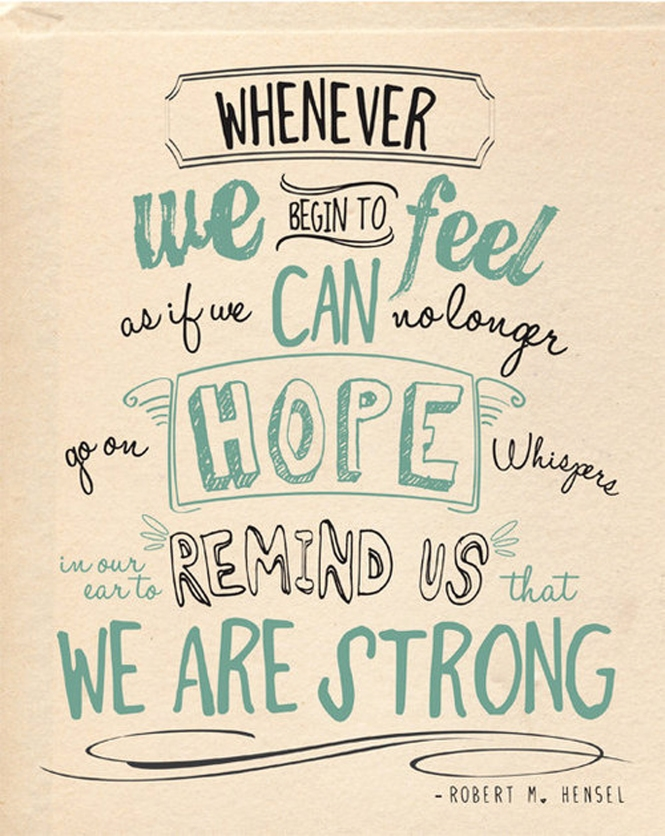 Inspirational Quotes_ Hope