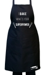 I bake_Superpower_Black Apron